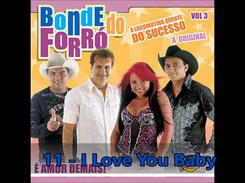 bonde do forr   volume 3 cd completo    amor demais