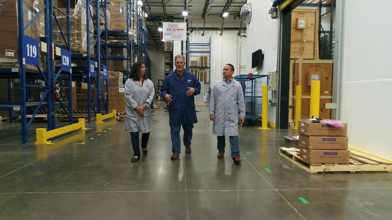 Avnet Distribution Center Shoot