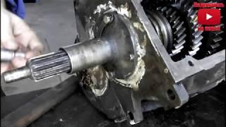самодельный трактор двс 2109.Дополнительный подшипник на первичный вал ГАЗ