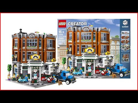 LEGO CREATOR 10264 Corner Garage Fast Speed Build Construction Toy - UNBOXING