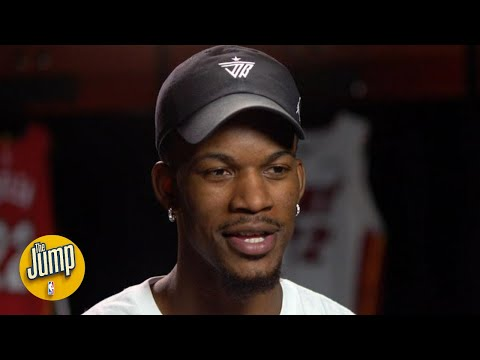Jimmy Butler's exclusive interview on LeBron, the doubters, and staying in Miami | The Jump