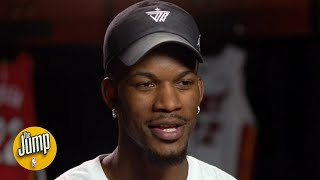 Jimmy Butler's exclusive interview on LeBron, the doubters, and staying in Miami | NBA Interview