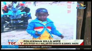 Police officer shoots, kills his wife and daughter - VIDEO