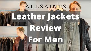 All Saints Leather Jackets Review For Men   Best Mens Leather Jackets
