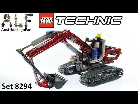 Vidéo LEGO Technic 8294 : La pelleteuse