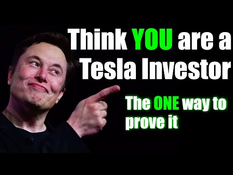 Are YOU Really a Long Term TESLA Stock Investor?  TAKE THE TEST!
