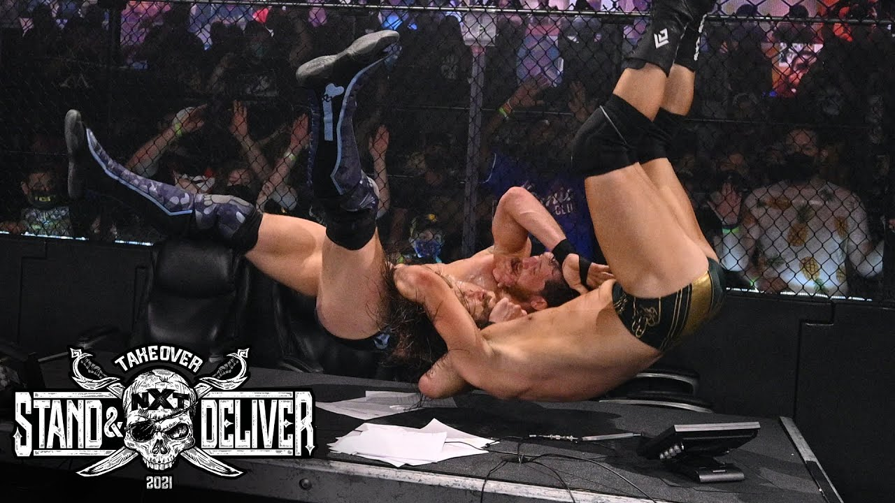 """Adam Cole Vs. Kyle O'Reilly Unsanctioned Match At """"Takeover: Stand And Deliver"""" Night Two"""