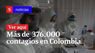 Casos De Coronavirus En Colombia Agosto 8 : Más De  376.000 Contagios Oficiales | Semana Noticias