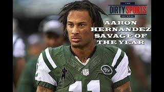 Aaron Hernandez Savage of the Year Award