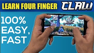 How To Shift To 4 Finger Claw In Pubg Mobile , Most Easy , Fastest Way !!