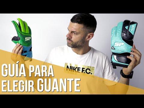 CÓMO ELEGIR TU GUANTE DE PORTERO.