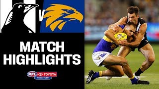 Drama In Grand Final Replay | Collingwood V West Coast Highlights | Round 3, 2019 |  AFL