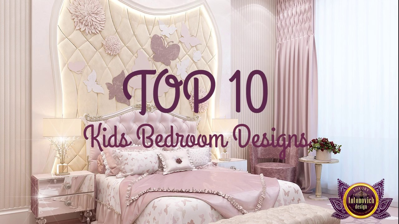 Top 10 Kids Bedroom Designs from Luxury Antonovich Design