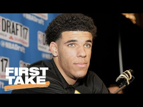 Will Lonzo Ball Be A Bust In NBA? | First Take | June 22, 2017
