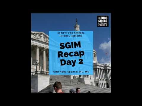 Recap SGIM19 Day 2