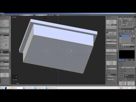 Blender für Zusianer (3): Modellieren - Extrude, Scale