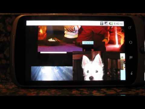 Video of Social Media Ticker Slide Show
