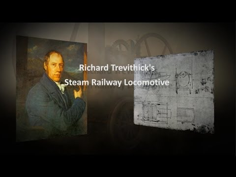 Richard Trevithick 1805 Steam Railway Locomotive