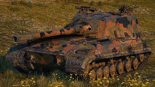 World of Tanks Object 268 Version 4 - 12 Kills 11,2K Damage (1 VS 5)