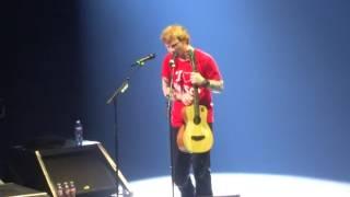 Ed Sheeran - Take It Back/Superstition/Ain't No Sunshine @ Scottrade Center, St Louis 10/05/15