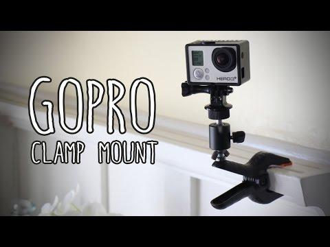 Make A DIY GoPro Clamp Mount For Under $20