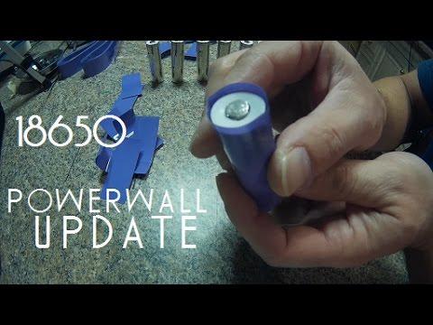 Diy Tesla Powerwall ep8 Quick 18650 Update