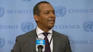 تصريح ممثل الجبهة لدي الامم المتحدة  الدكتور سيدى محمد عمار بعد قرار مجلس الامن 30اكتوبر209
