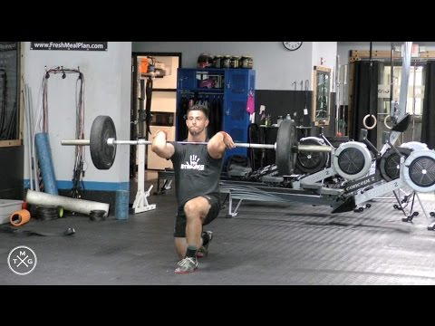 The Man Guide – Crossfit WOD #1