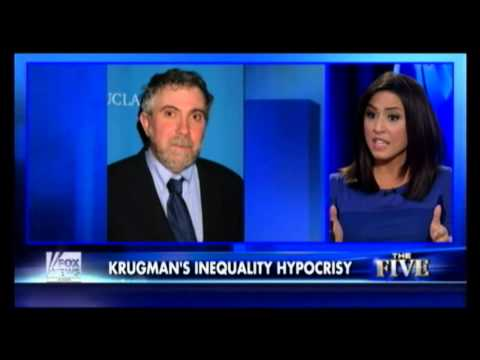 Greg Gutfeld and The Five Attack Paul Krugman