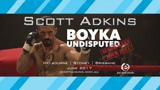 Scott Adkins Australian Tour