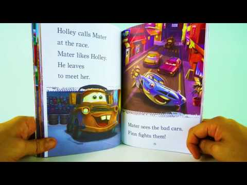 Disney Pixar Cars Cars 2 Super Spies Kids Books Read Aloud 맥퀸 자동차