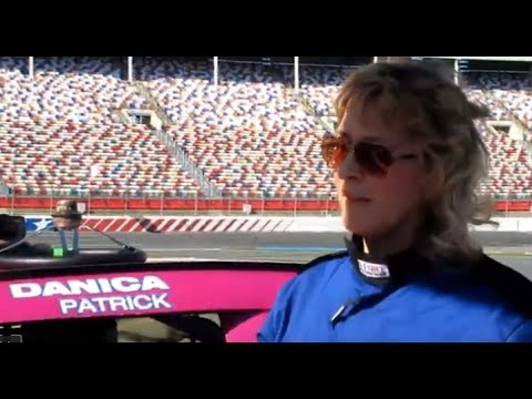 GALE HART DRIVES DANICA PATRICK'S NASCAR
