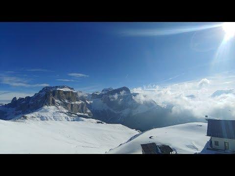 Ski in SellaRonda, Italy 4K UHD