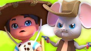 El Ratón Vaquero | Rimas En Español | Canciones Infantiles | Canción Para Niños | El Raton Vaquero