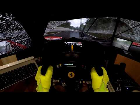 Thrustmaster TS-PC RACER Ferrari 488 Challenge Edition - Project CARS 2