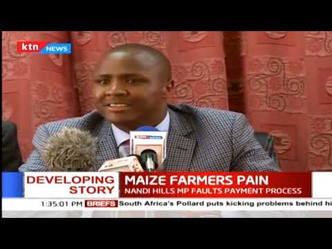 Nandi Hills MP Alfred Keter enlists brokers who are allegedly importing maize from Mexico