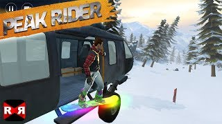 Peak Rider Snowboarding - Ultra Graphics iPhone X Gameplay