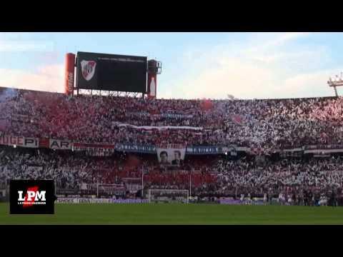 """""""RIVER PLATE CAMPEÓN 2014 - INCLEIBLE Y ESPECTACULAR RECIBIMIENTO - HD"""" Barra: Los Borrachos del Tablón • Club: River Plate • País: Argentina"""