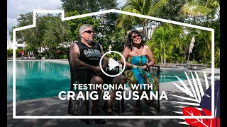 Testimonial with Craig and Susana