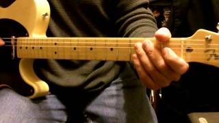 how to play Who's Cheatin' Who Intro