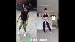 #EGGPLANTCHALLENGE | A-Star - Eggplant Afrobeat Remix by Izzy Odigie @bruhhhitsjess