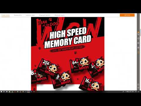 Mixza Year of the Dog Limited Edition U1 32GB SD Card speedtest