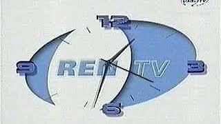Часы РЕН ТВ 2000 2002 Реконструкция Фейк Телевизора ТВ