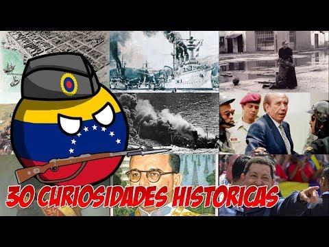 30 Curiosidades Históricas sobre Venezuela.