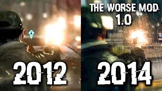THE WORSE 1.0 vs E3 2012 Comparison - WATCH DOGS