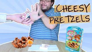 yummy nummy cheesy pretzels!