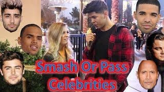SMASH OR PASS Celebrities ft  Flowbros