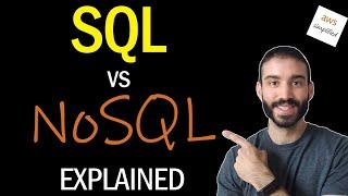 SQL vs NoSQL Explained