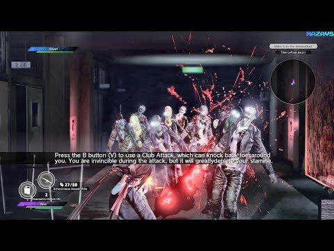 Gameplay de SG/ZH: School Girl/Zombie Hunter