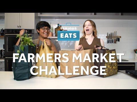 Sohla and Stella's Farmers Market Challenge